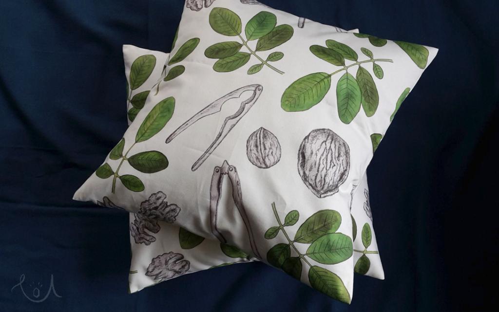 poduszki - pierwszy stopień do przytulności