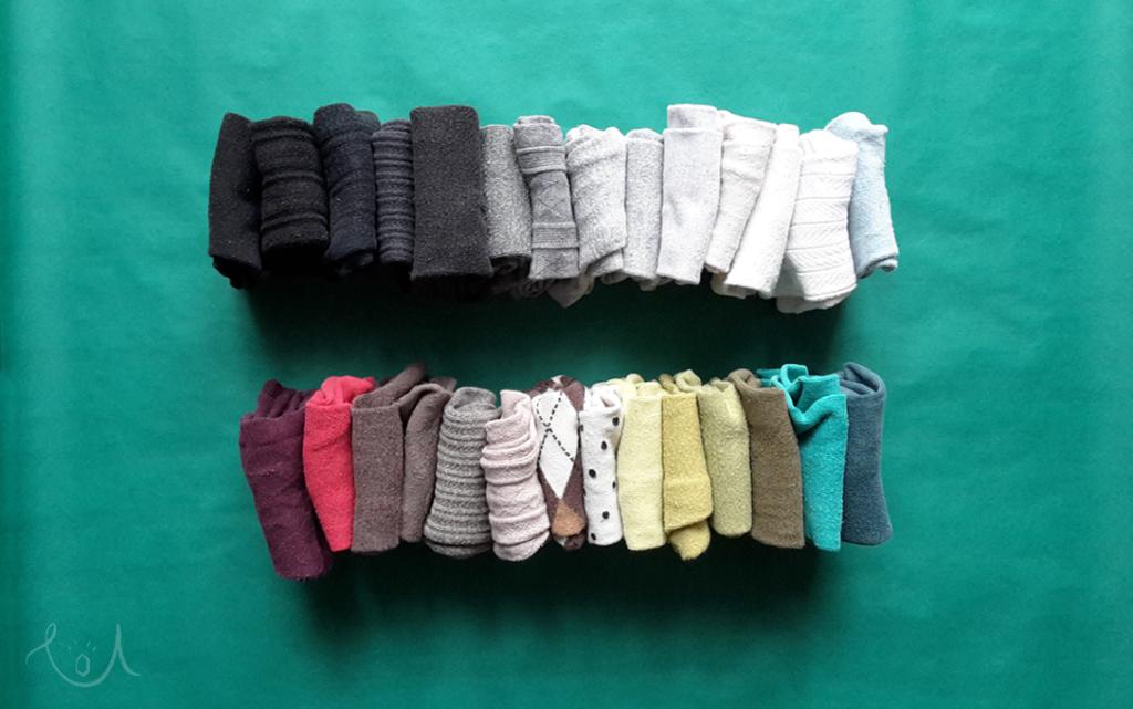 Sztuka składania ubrań -Marie Kondo