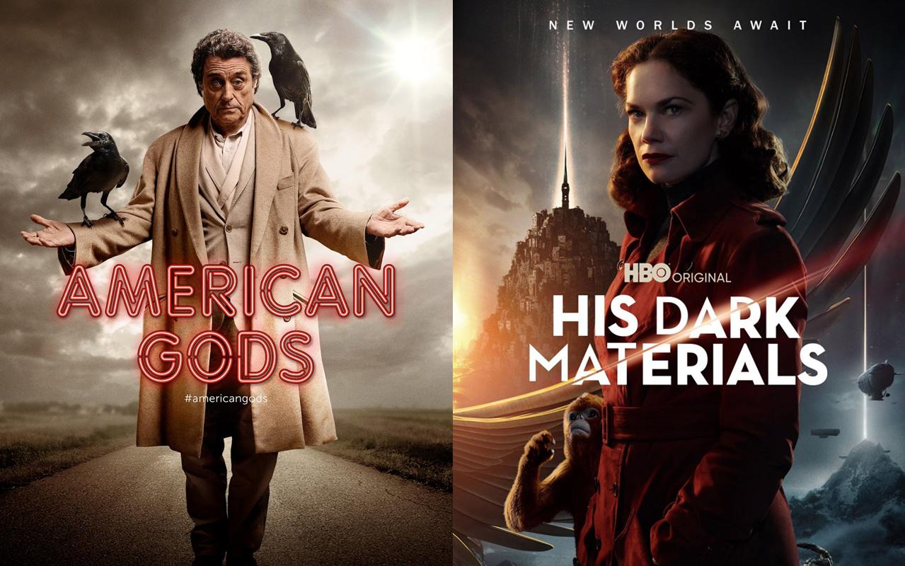 Amerykańscy Bogowie ♦ Mroczne Materie – dwa atrakcyjne seriale fantasy.
