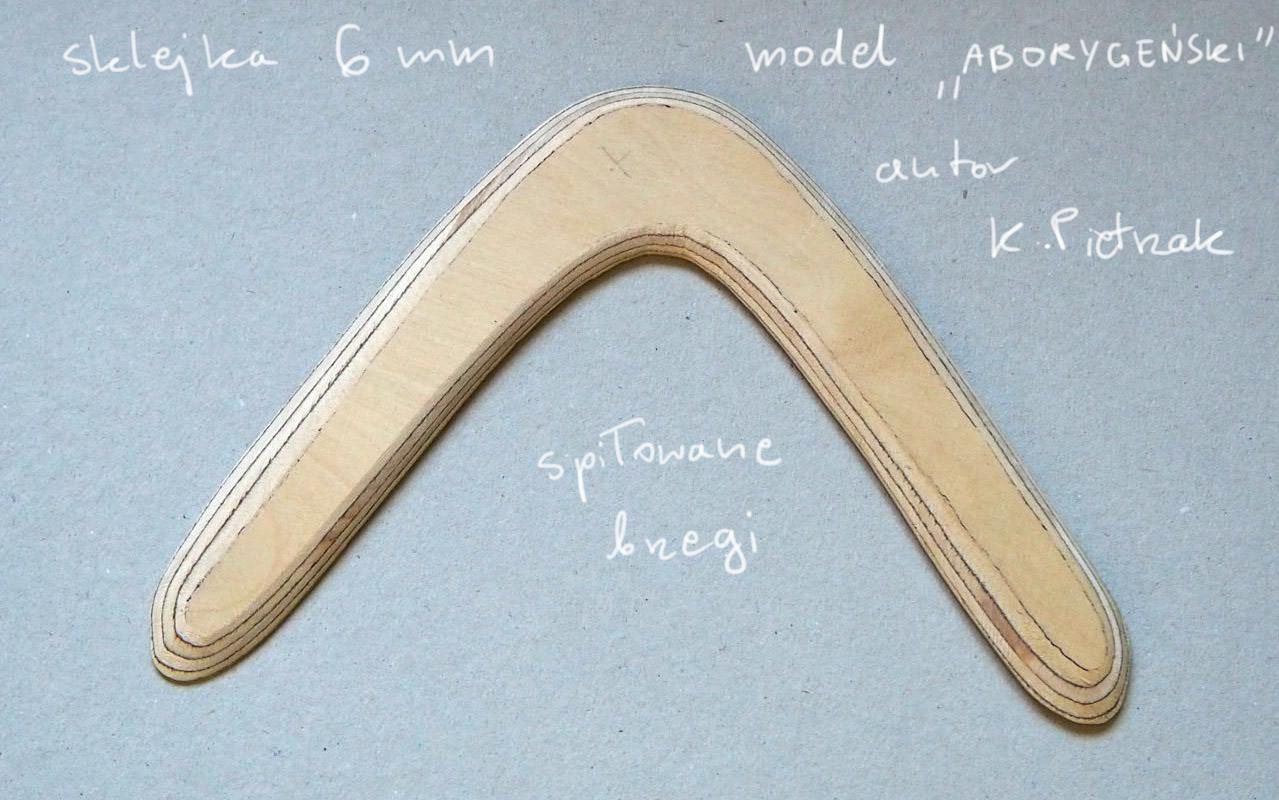 bumerang - proces wykonania